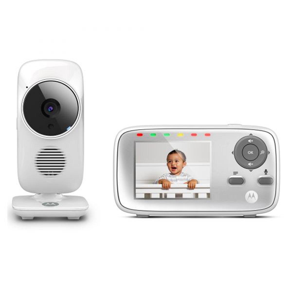 Écoute bébé Babyphone avec Ecran MBP483 Babyphone avec Ecran MBP483