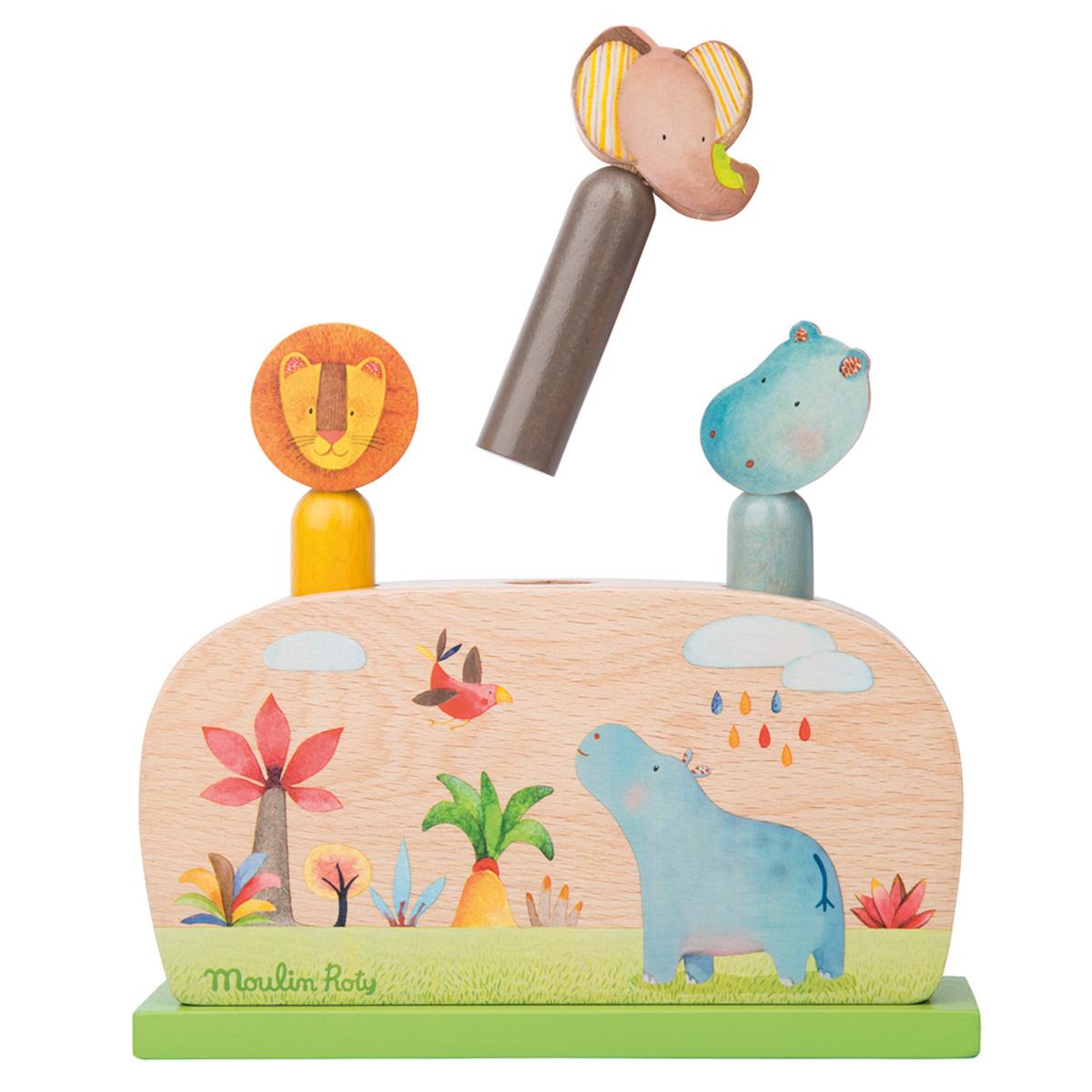 Mes premiers jouets Pop-up Les Papoum Pop-up Les Papoum