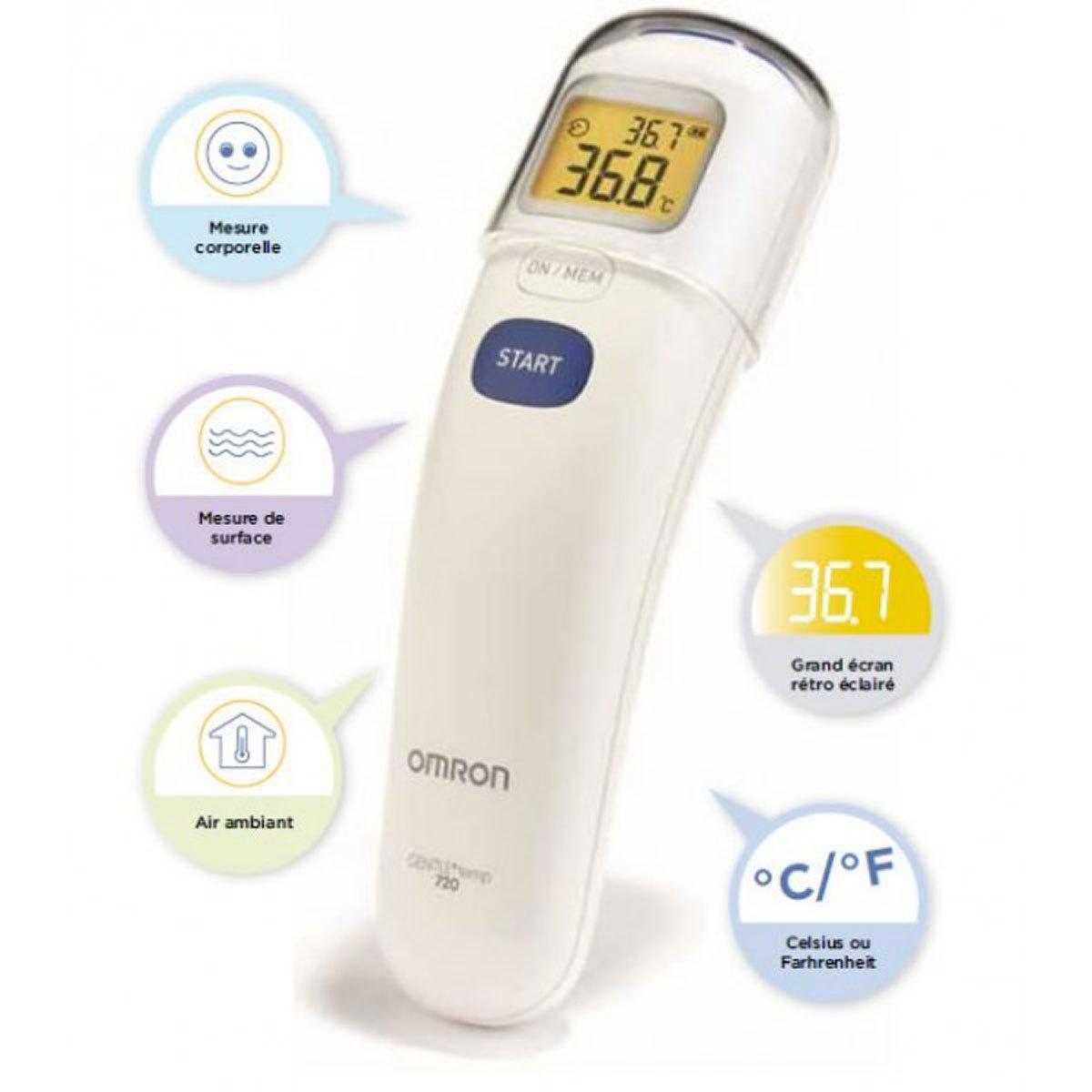Thermomètre Thermomètre Sans Contact - Gentle Temp 720 Thermomètre Sans Contact - Gentle Temp 720