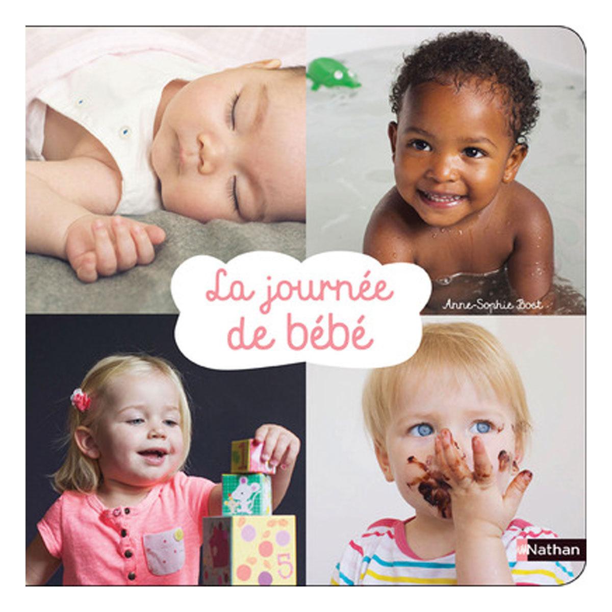 Livre & Carte La journée de bébé La journée de bébé