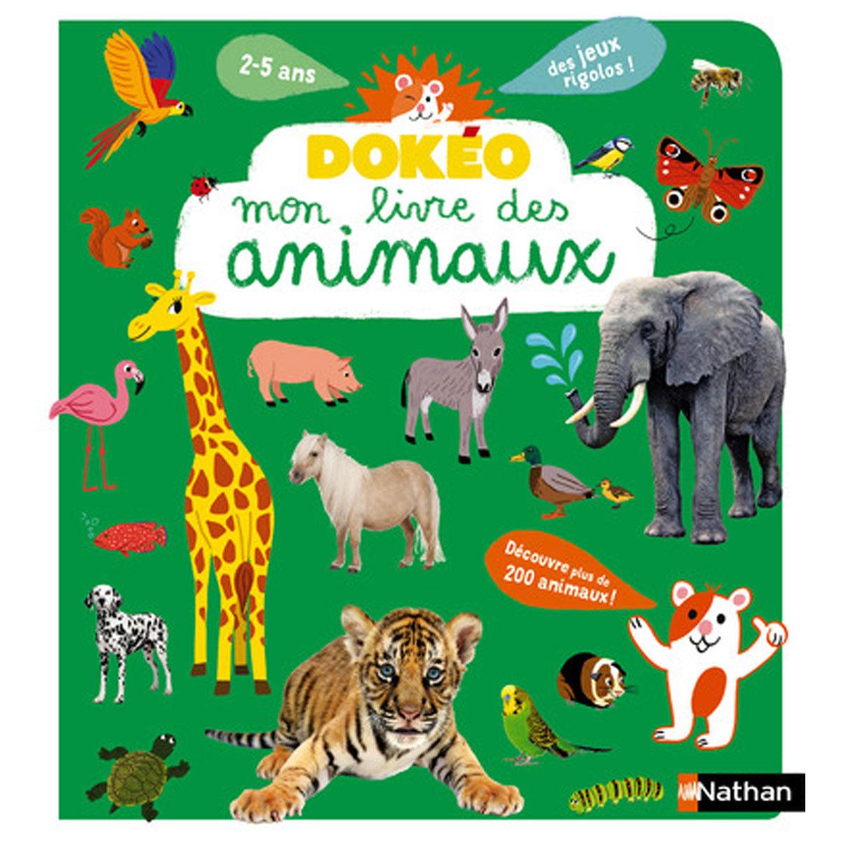 Livre & Carte Dokéo - Mon livre des animaux Dokéo - Mon livre des animaux