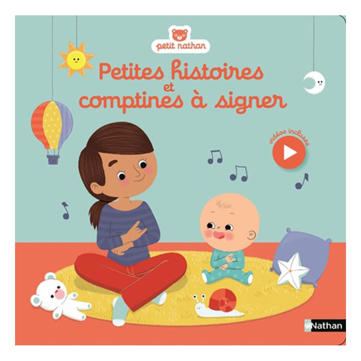 Livre & Carte Petites histoires et comptines à signer Petites histoires et comptines à signer