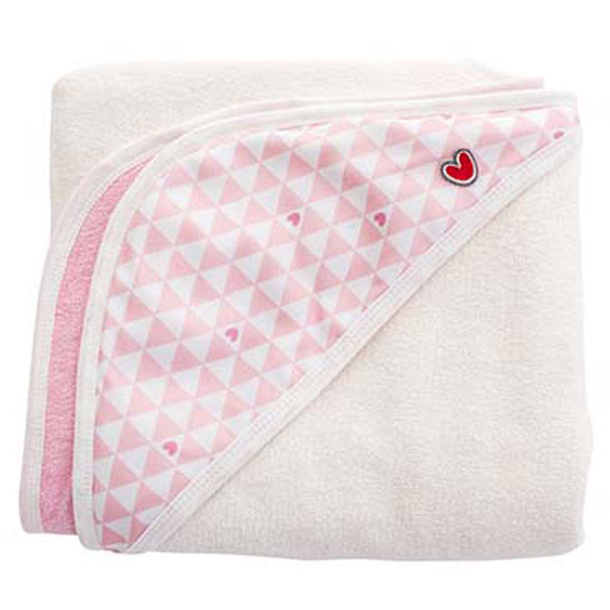 Linge & Sortie de bain Serviette Papillon - Pink Heart Serviette Papillon - Pink Heart