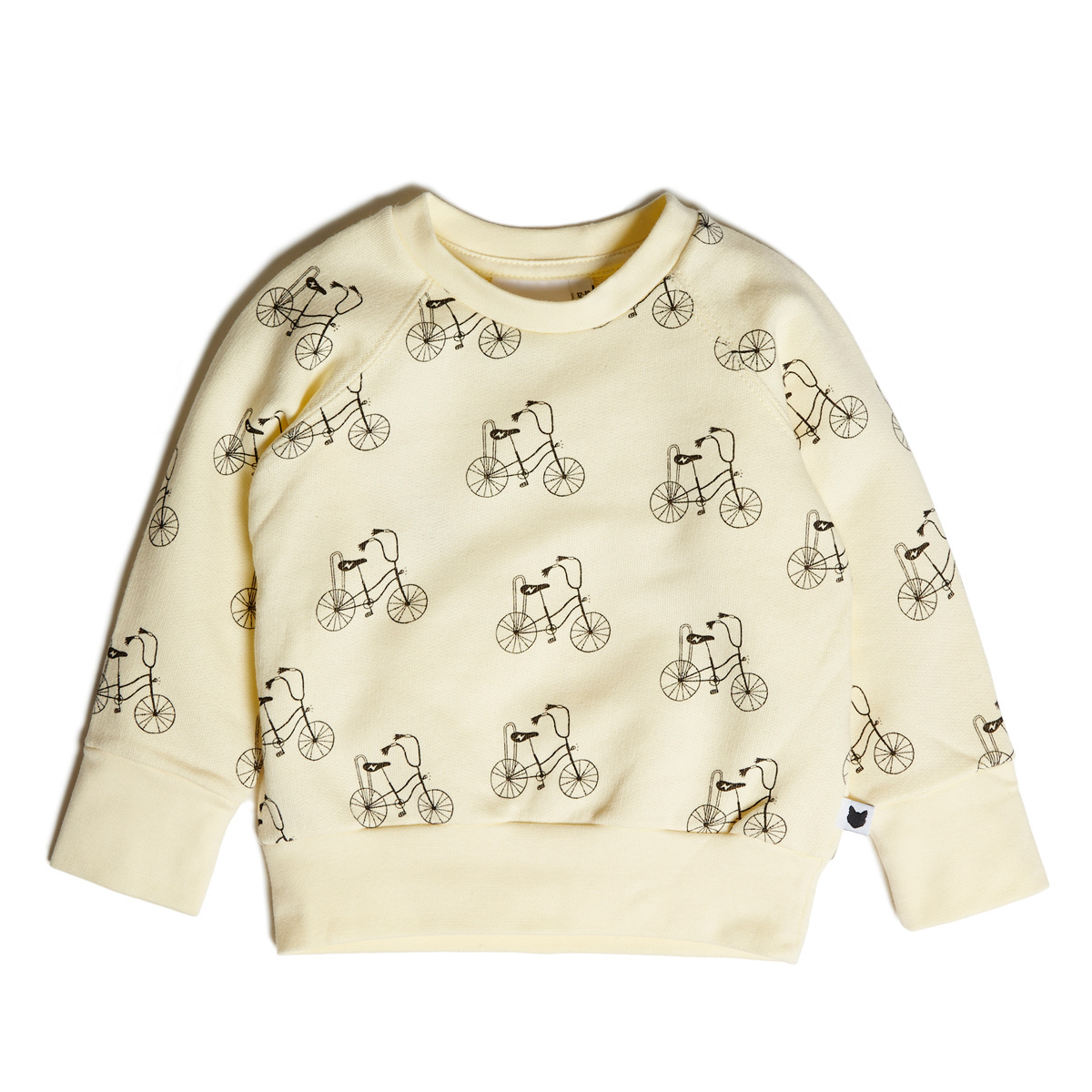 Hauts bébé Sweatshirt Banana Bike Loopback - 6/12 Mois Sweatshirt Banana Bike Loopback - 6/12 Mois