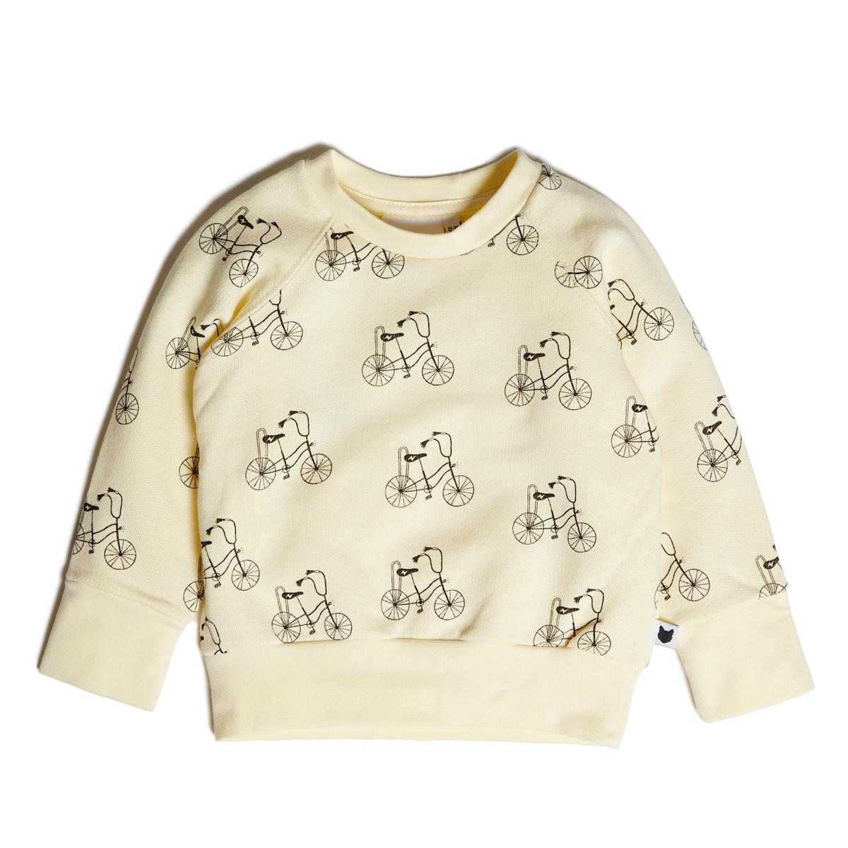 Hauts bébé Sweatshirt Banana Bike Loopback - 12/18 Mois Sweatshirt Banana Bike Loopback - 12/18 Mois