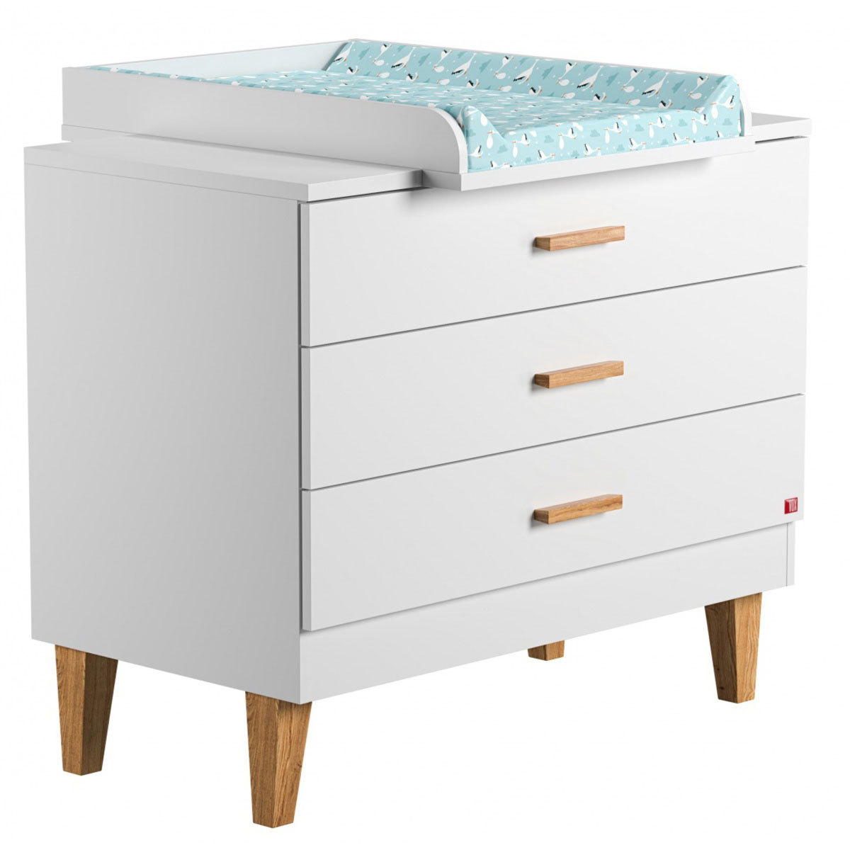 Vox meubles commode plan langer lounge blanc - Plan a langer a fixer sur commode ...