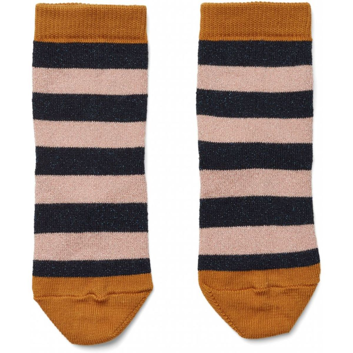 Accessoires Bébé Chaussettes Silas Stripes Rose & Navy - 22/24 Chaussettes Silas Stripes Rose & Navy - 22/24