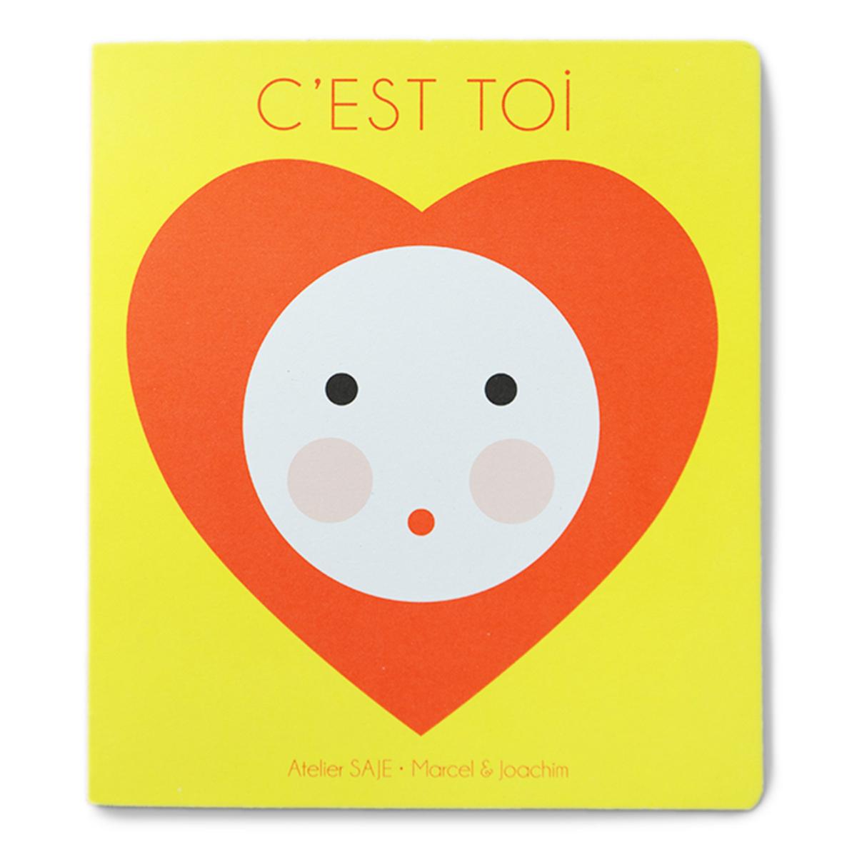 Livre & Carte C'est toi C'est toi