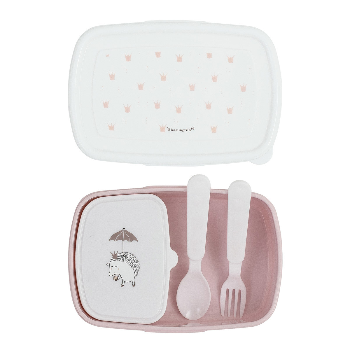 Vaisselle & Couvert Lunch Box Princess 4 Pièces Rose Lunch Box Princess 4 Pièces Rose