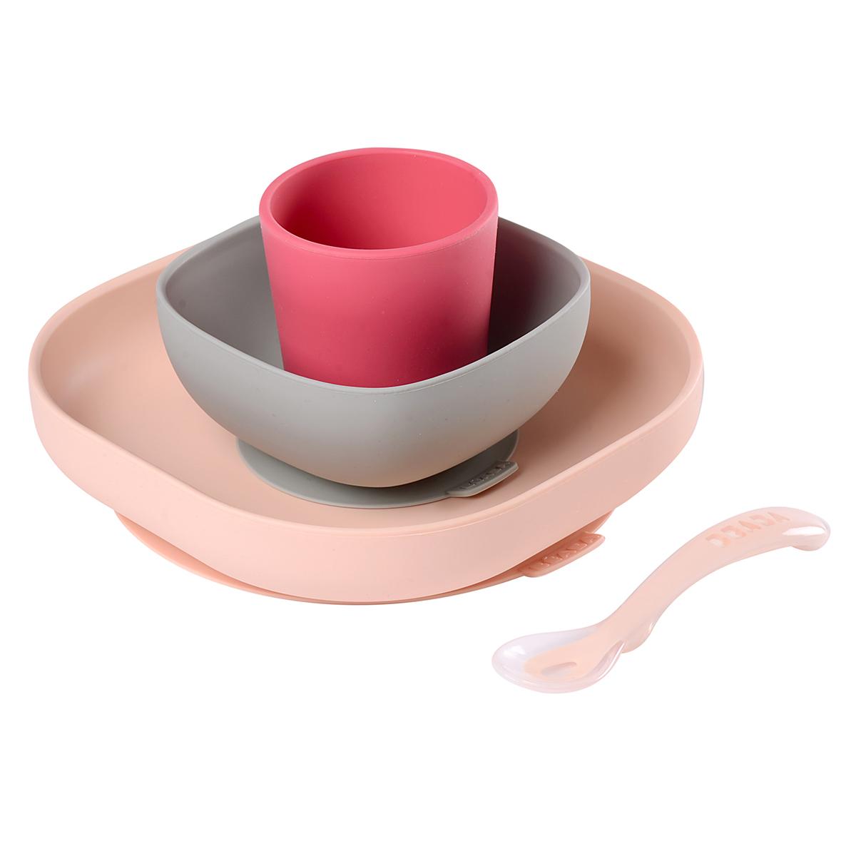 Coffret repas Set de Vaisselle 4 Pièces - Pink Set de Vaisselle 4 Pièces - Pink