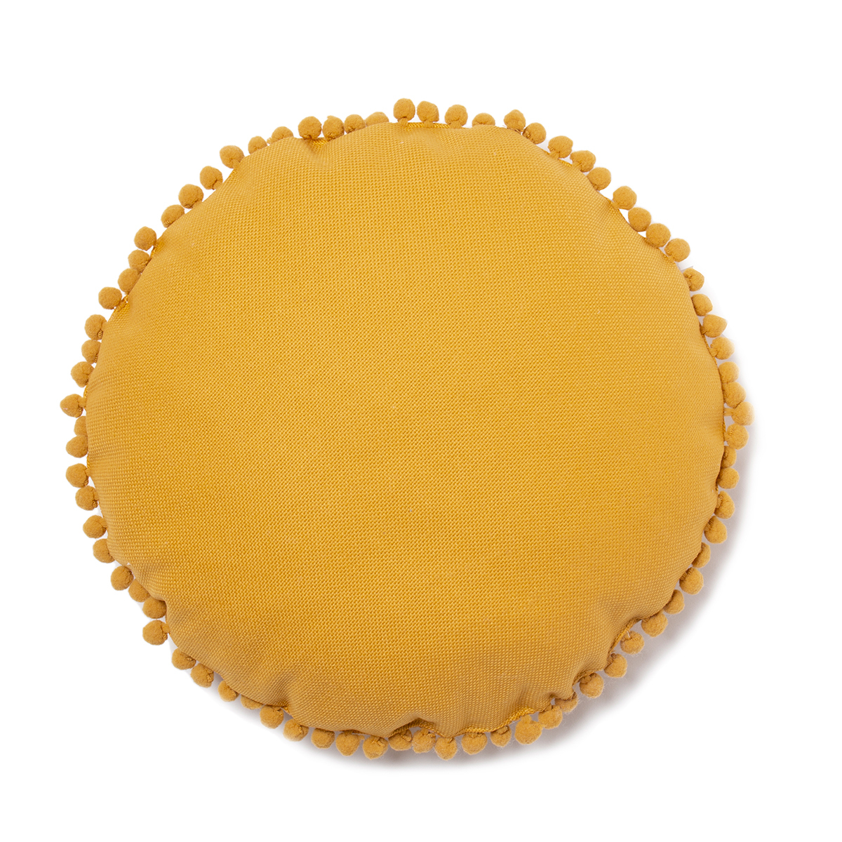 Coussin Coussin Rond Sunny - Farniente Yellow Coussin Rond Sunny - Farniente Yellow