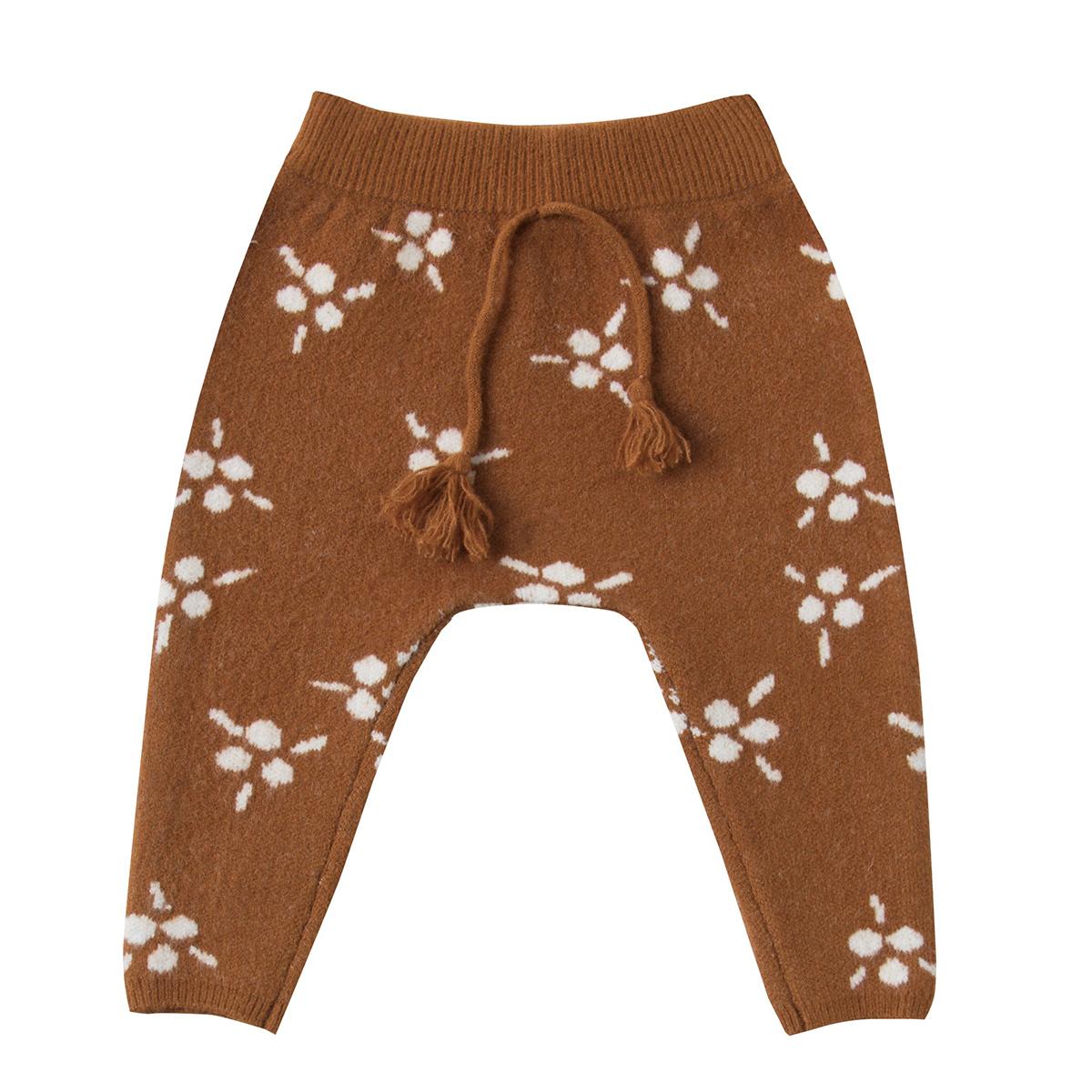 Bas bébé Pantalon Berry Jacquard Marron - 18/24 Mois Pantalon Berry Jacquard Marron - 18/24 Mois