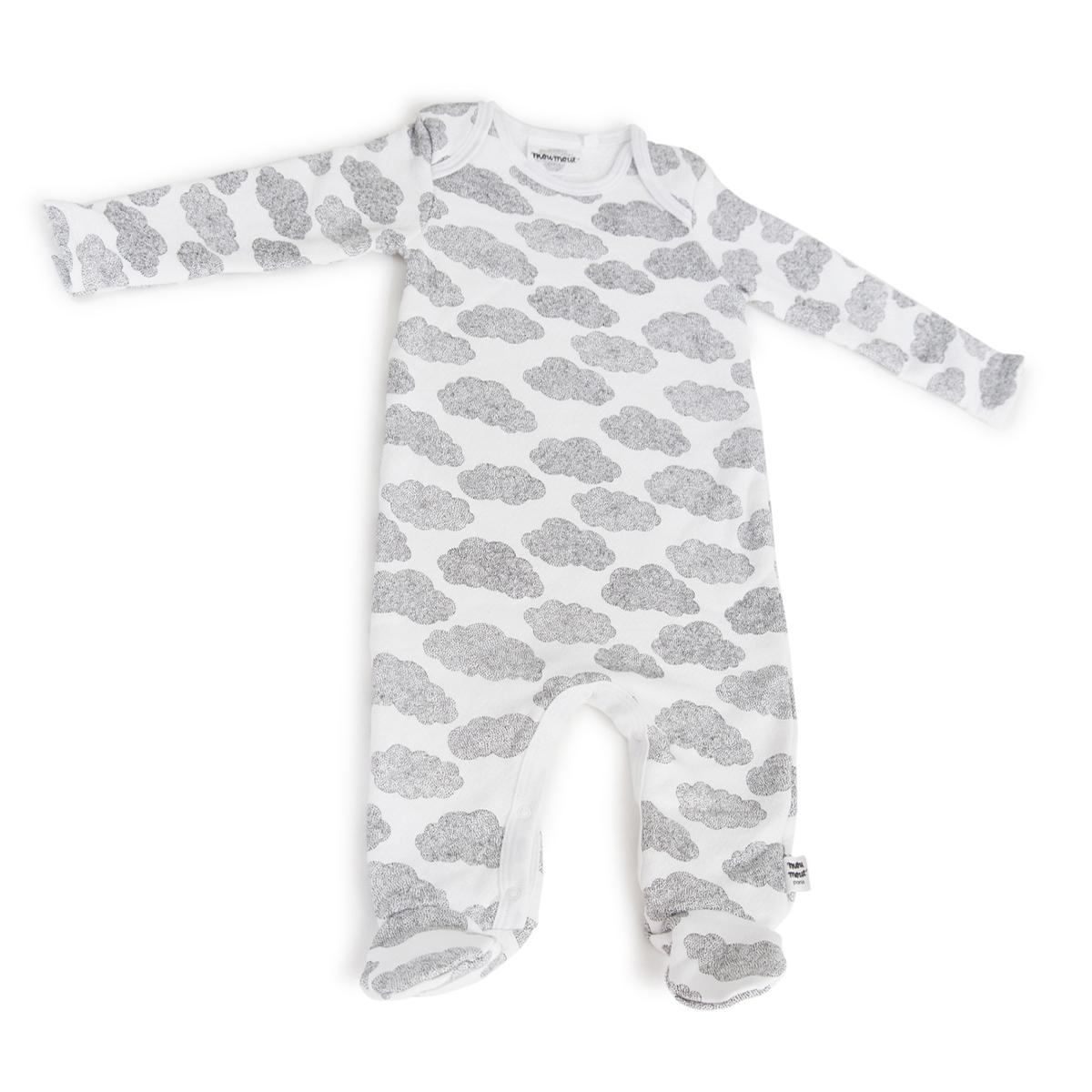 Body & Pyjama Pyjama Bobo Feet Cotton Nuages - 6 Mois Pyjama Bobo Feet Cotton Nuages - 6 Mois