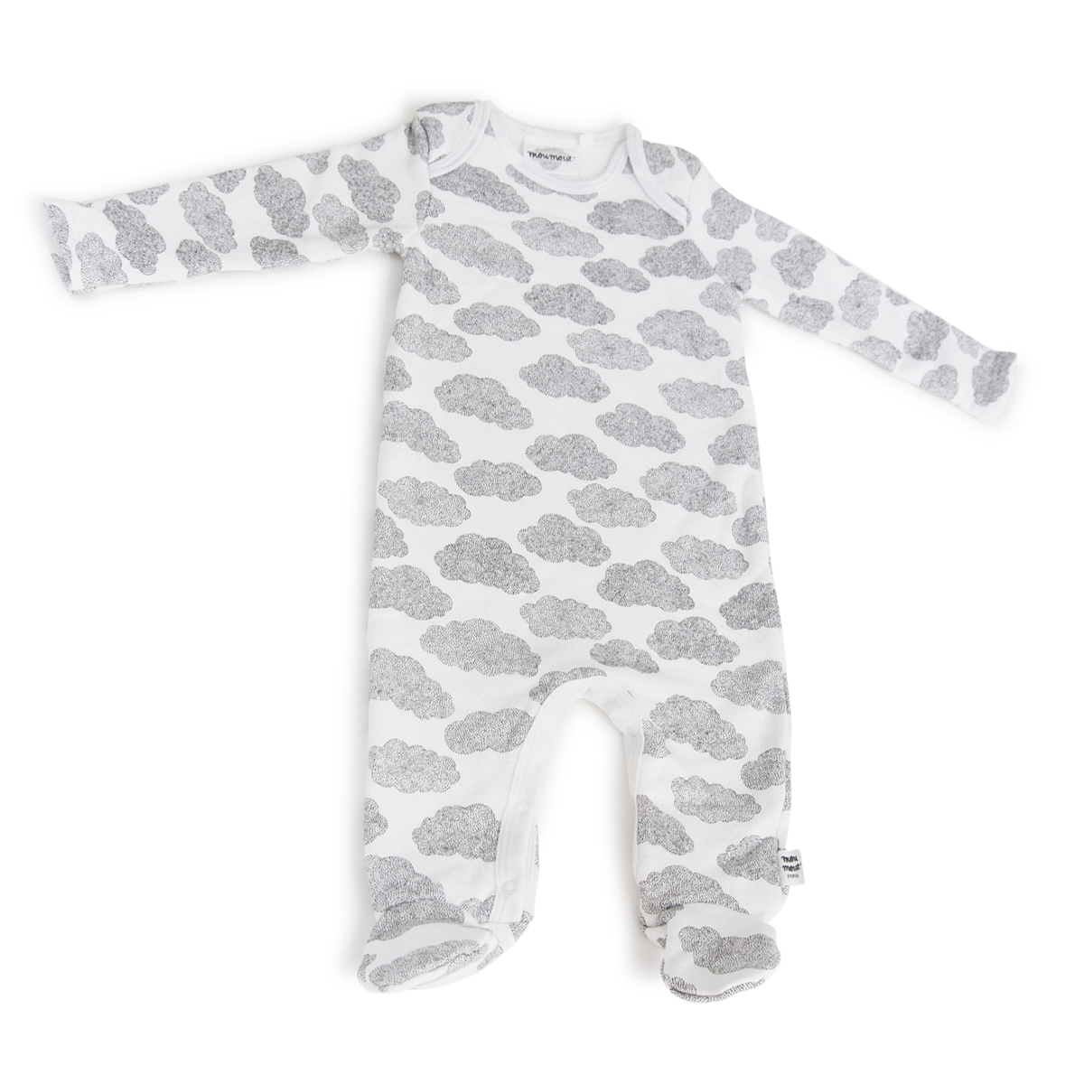 Body & Pyjama Pyjama Bobo Feet Cotton Nuages - 18 Mois Pyjama Bobo Feet Cotton Nuages - 18 Mois