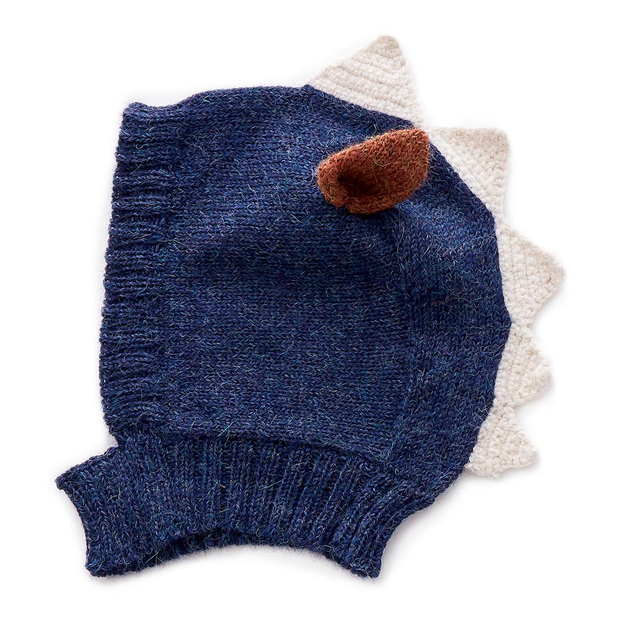 Accessoires Bébé Bonnet Monstre Bleu - 0/6 Mois Bonnet Monstre Bleu - 0/6 Mois