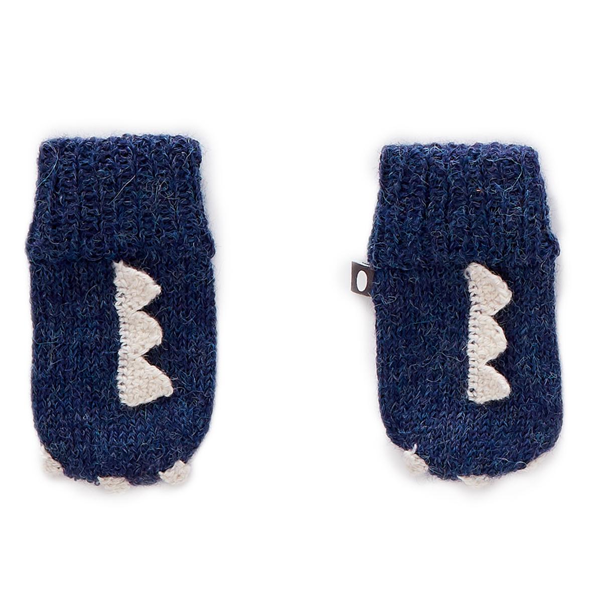 Accessoires Bébé Moufles Monstre Bleu - 0/6 Mois Moufles Monstre Bleu - 0/6 Mois