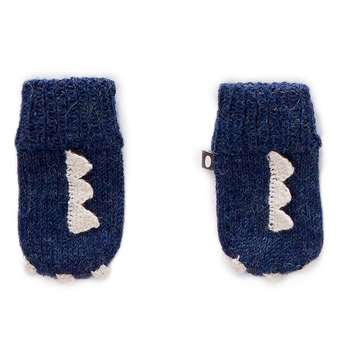 Accessoires Bébé Moufles Monstre Bleu - 12/18 Mois Moufles Monstre Bleu - 12/18 Mois