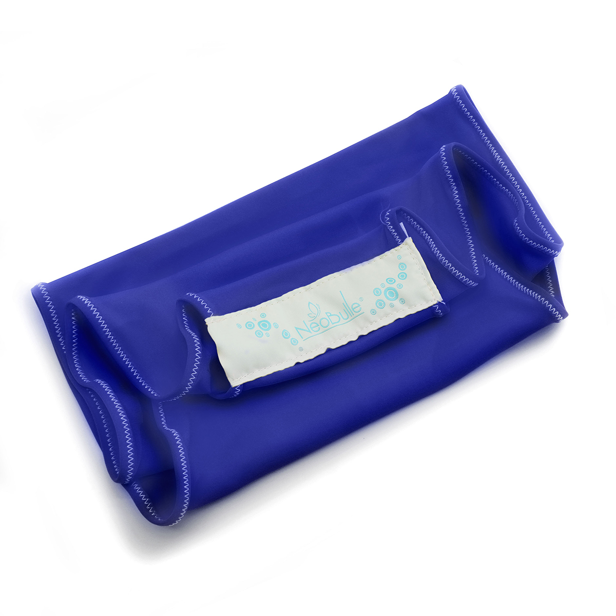 Porte bébé Echarpe Aquabulle Bleue - Taille S