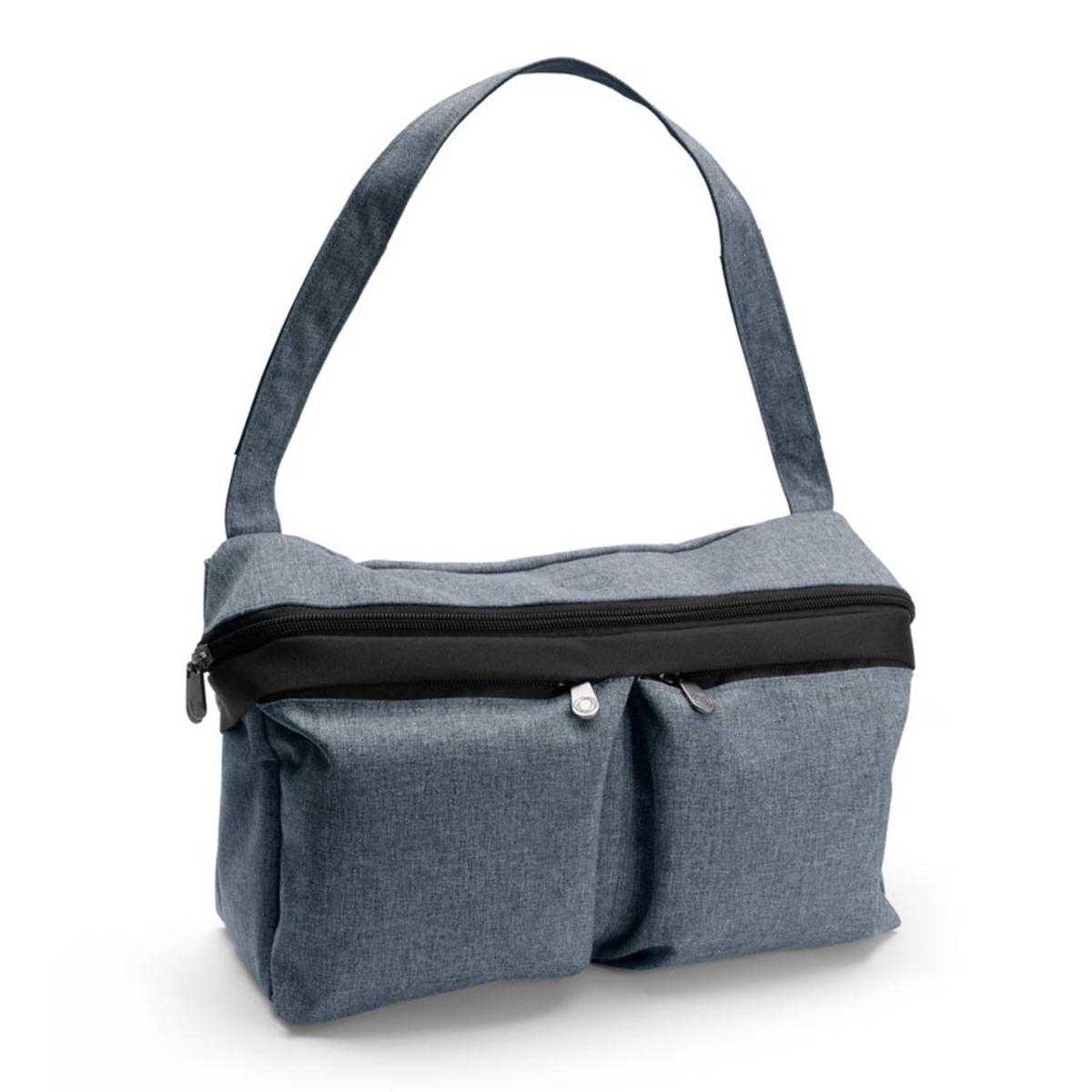 Accessoires poussette Sac Organiseur - Bleu chiné