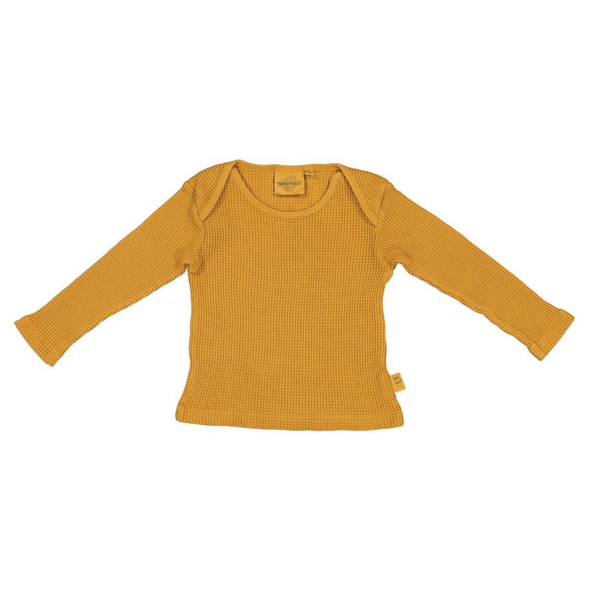 Haut bébé Tee-shirt Mü Bee Mustard - 12 Mois Tee-shirt Mü Bee Mustard - 12 Mois