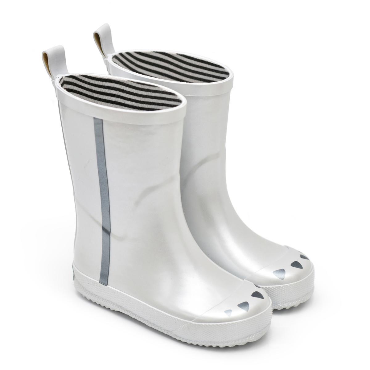 Chaussons & Chaussures Bottes Kerran Argent - 22 Bottes Kerran Argent - 22
