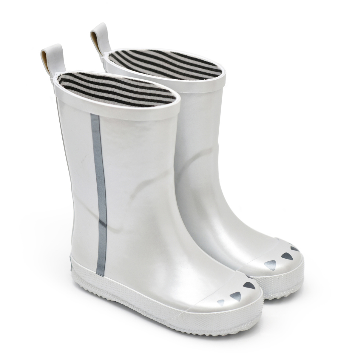 Chaussons & Chaussures Bottes Kerran Argent - 27 Bottes Kerran Argent - 27