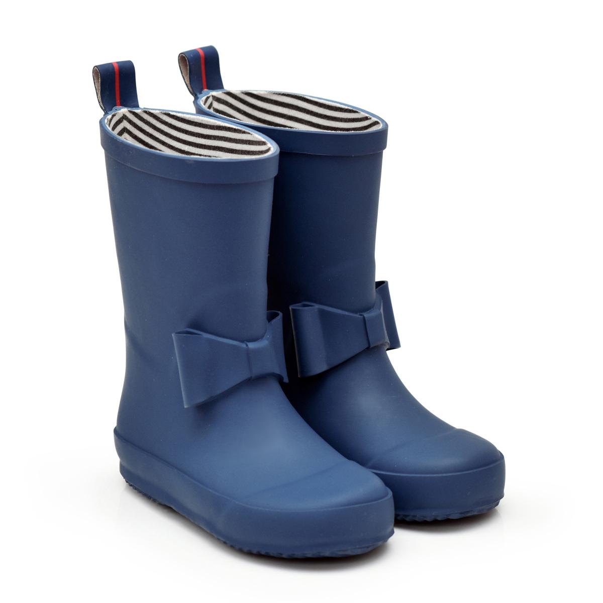 Chaussons & Chaussures Bottes Bowtie Marine - 21 Bottes Bowtie Marine - 21