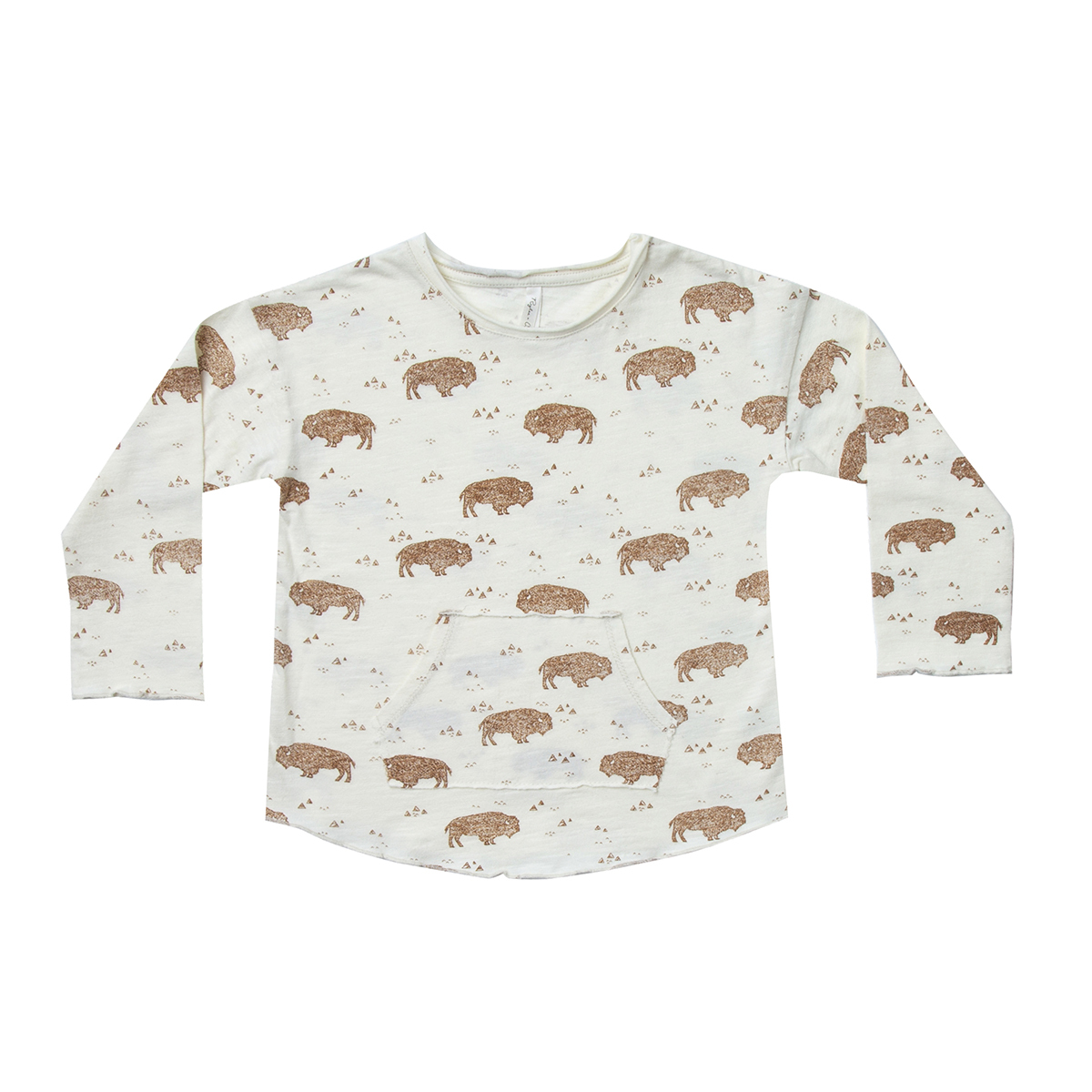 Hauts bébé T-shirt Buffalo Ivoire - 6/12 Mois T-shirt Buffalo Ivoire - 6/12 Mois