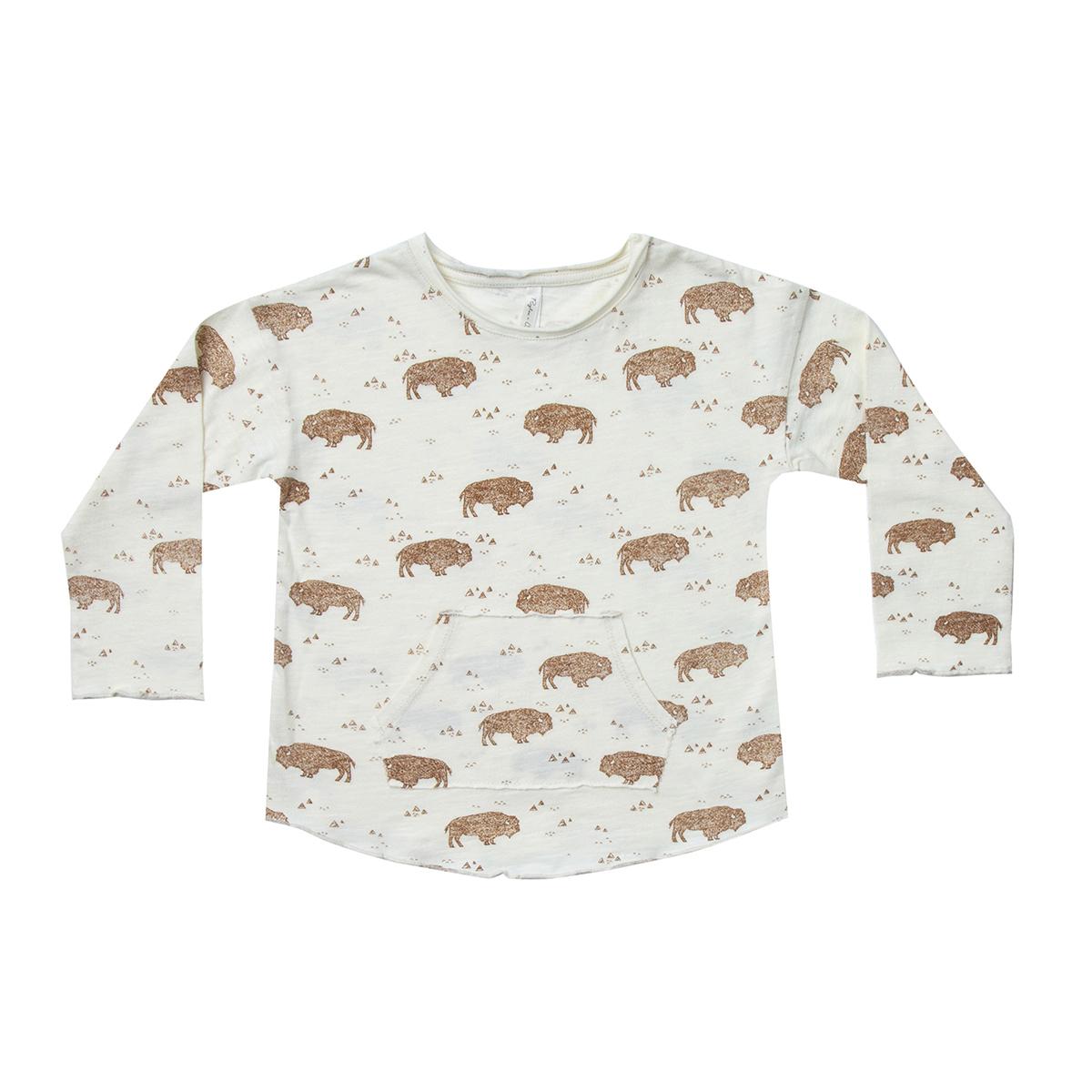 Haut bébé T-shirt Buffalo Ivoire - 12/18 Mois T-shirt Buffalo Ivoire - 12/18 Mois