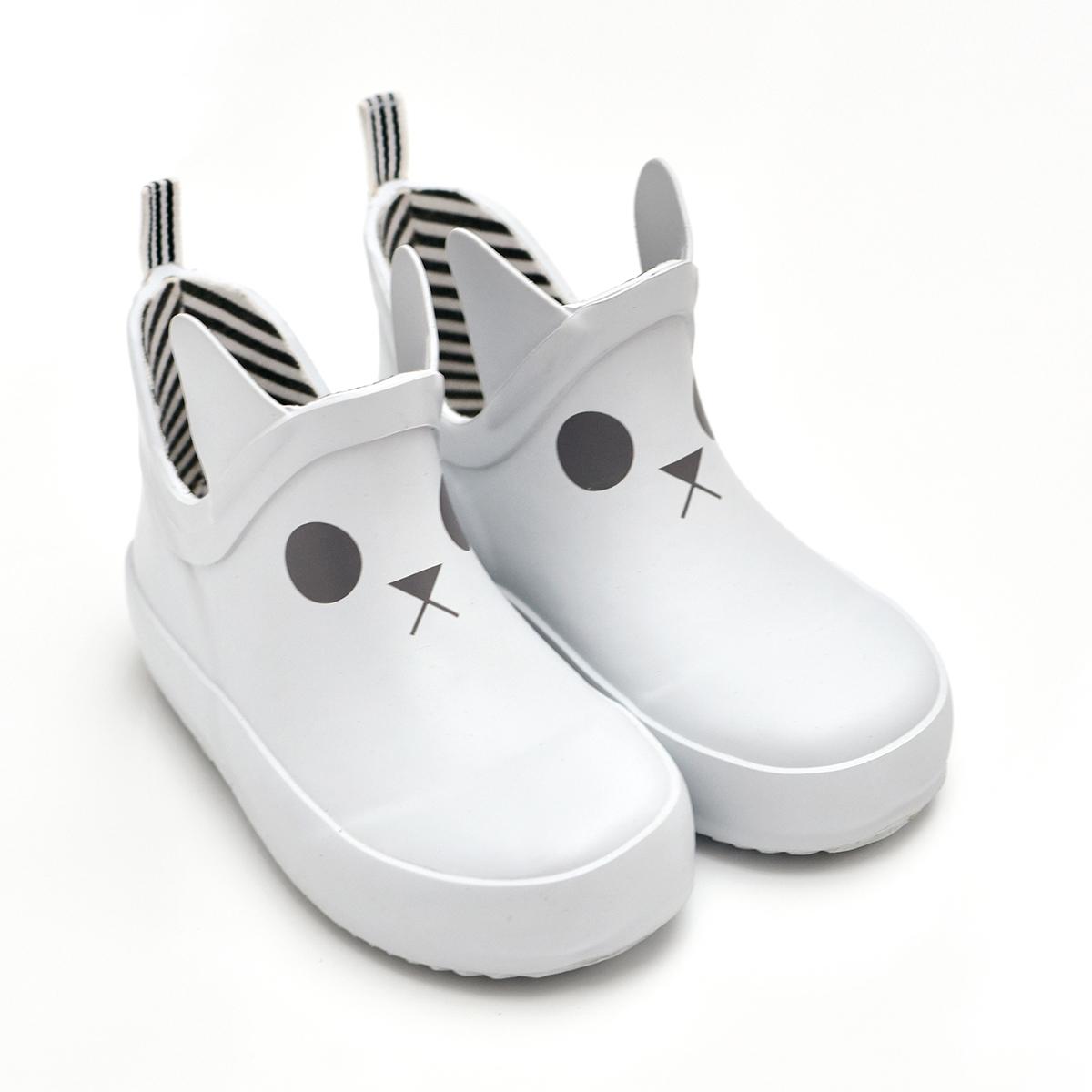Chaussons & Chaussures Bottines Kerran Blanc - 25 Bottines Kerran Blanc - 25