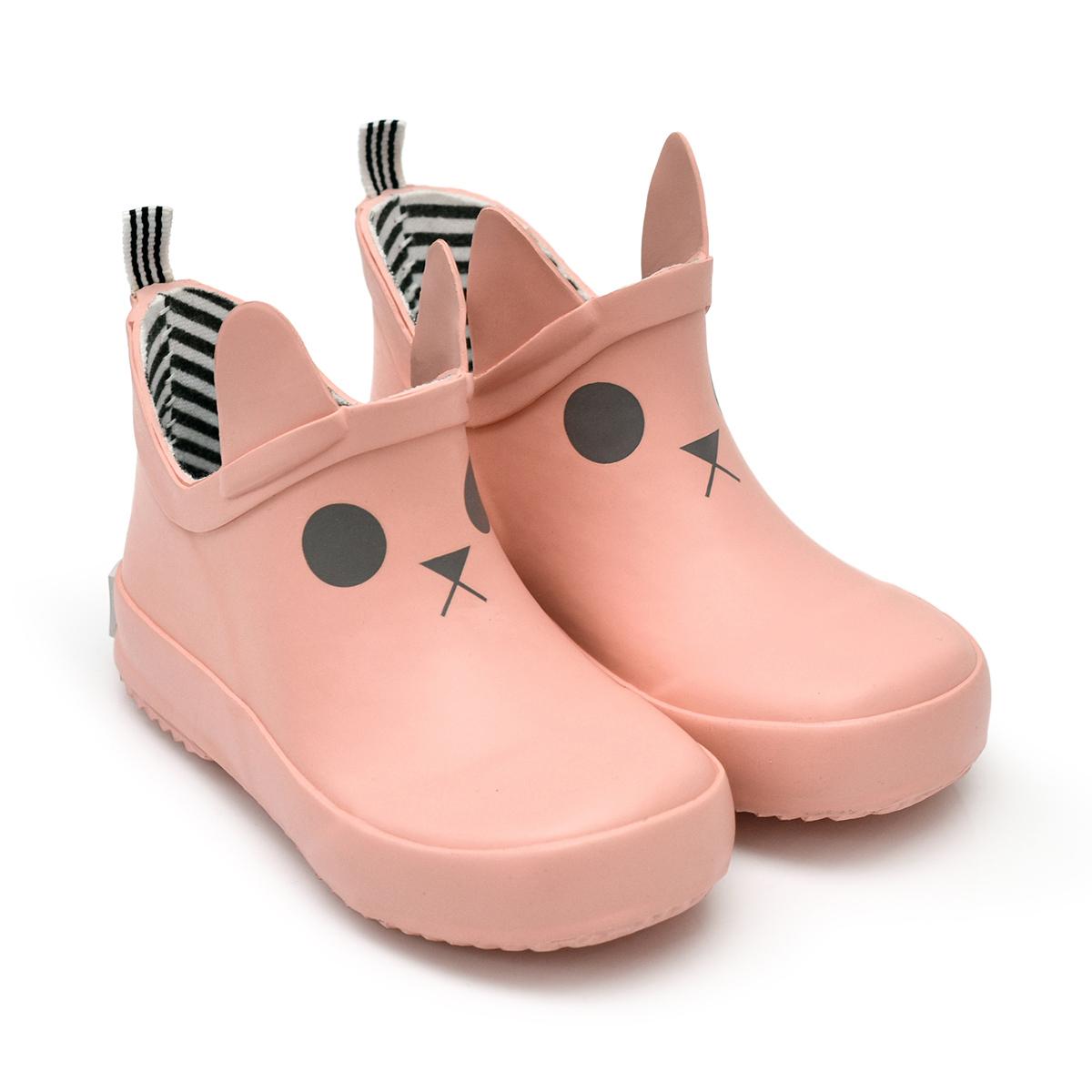 Chaussons & Chaussures Bottines Kerran Salmon Pink - 23 Bottines Kerran Salmon Pink - 23