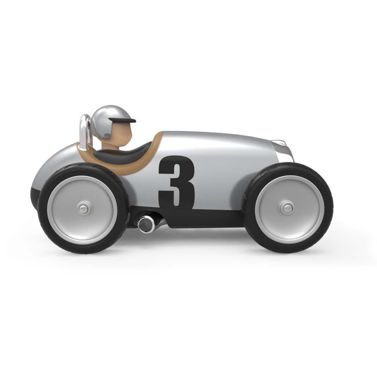 Car Argent Voiture Métal Racing En TkOPiuXZ