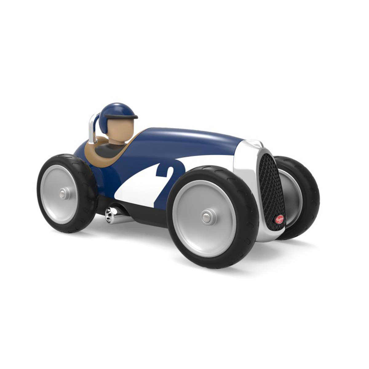 Mes premiers jouets Voiture en Métal Racing Car - Bleu Voiture en Métal Racing Car - Bleu