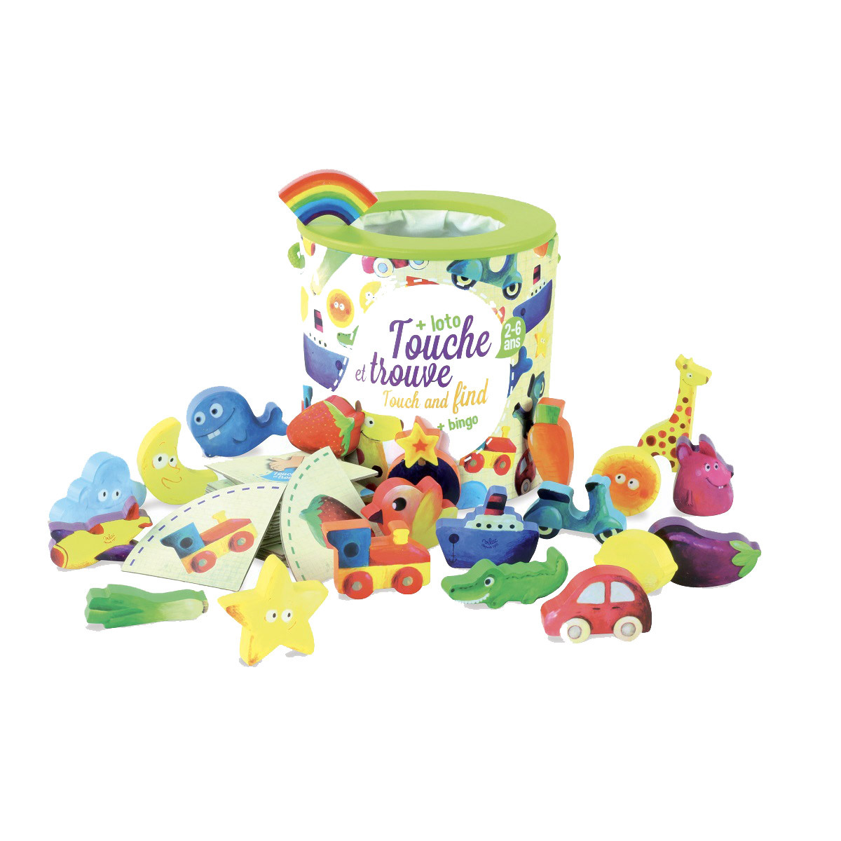 Mes premiers jouets Jeu de Reconnaissance Touche et Trouve Jeu de Reconnaissance Touche et Trouve