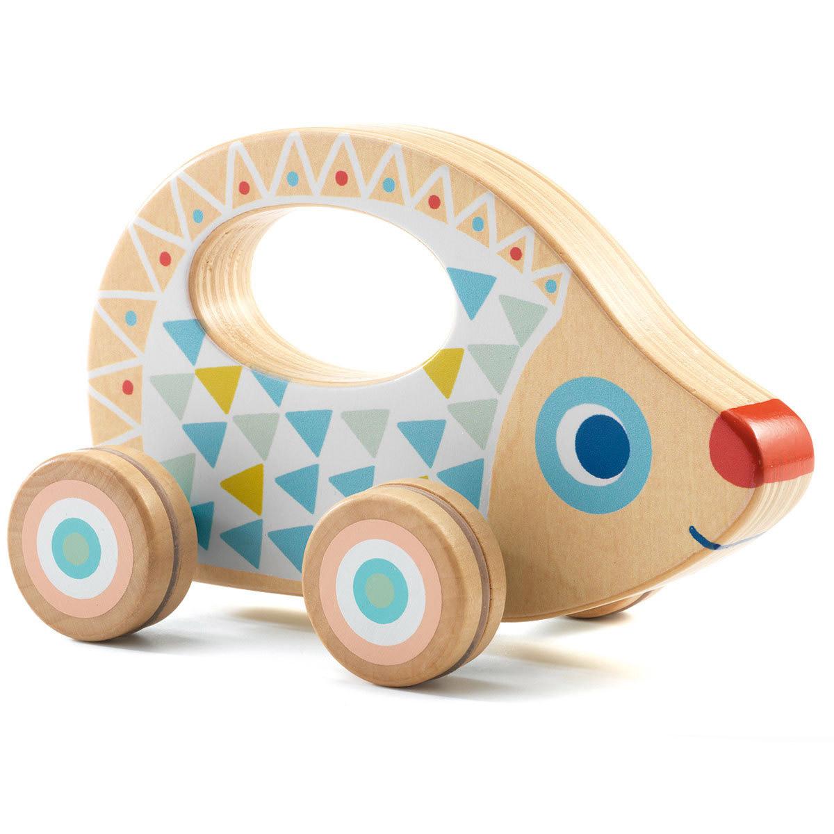 Mes premiers jouets BabyRouli Voiture Hérisson Djeco - AR201702200070