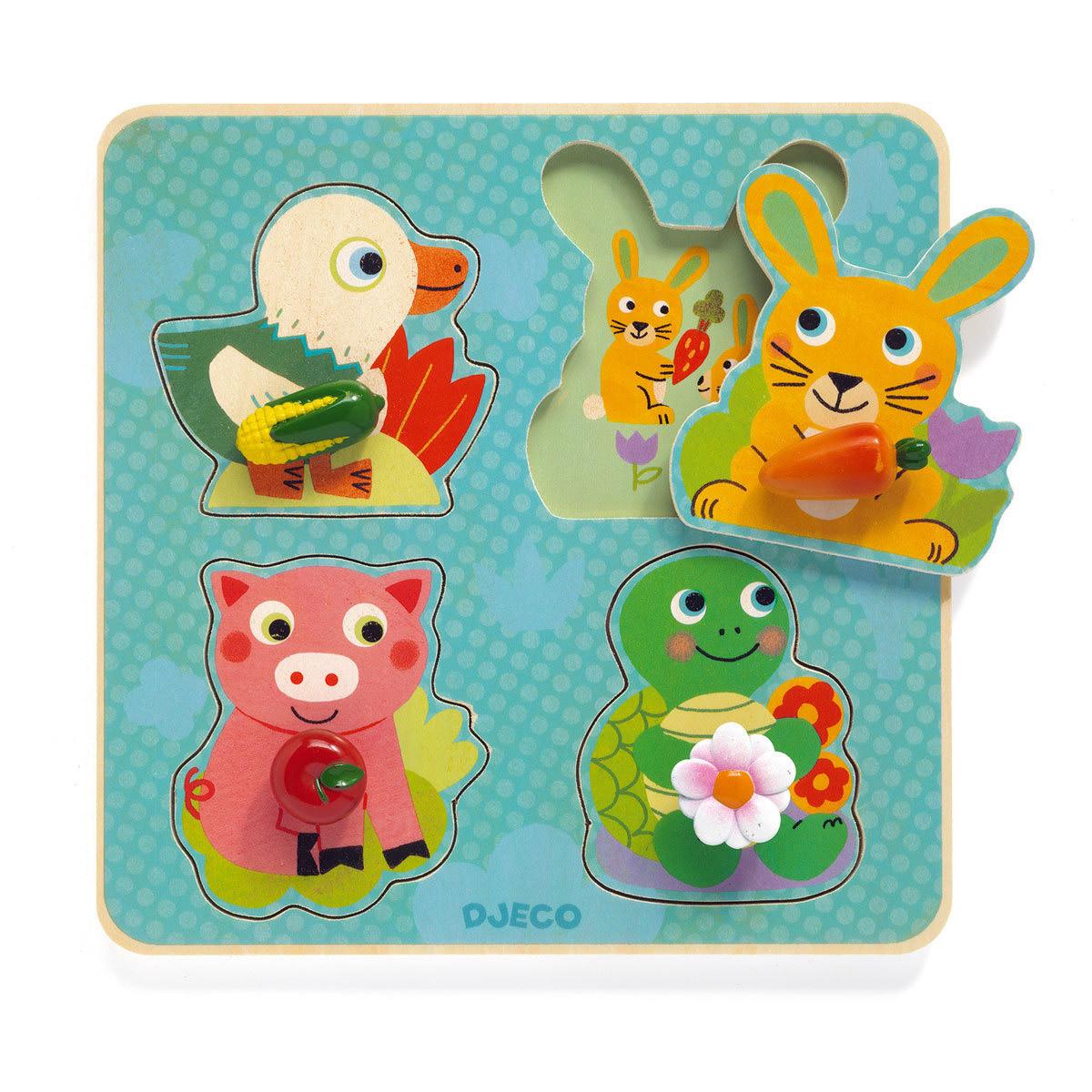 Mes premiers jouets Croc-Carrot Puzzle Gros Boutons Croc-Carrot Puzzle Gros Boutons