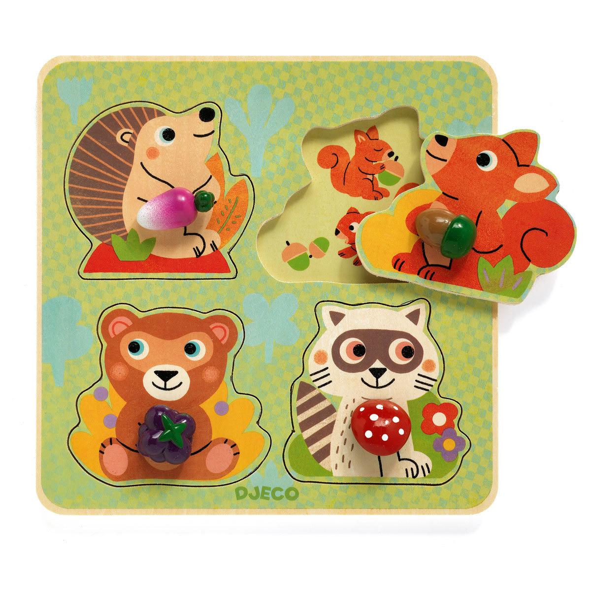 Mes premiers jouets Croc-Nut Puzzle Gros Boutons Croc-Nut Puzzle Gros Boutons