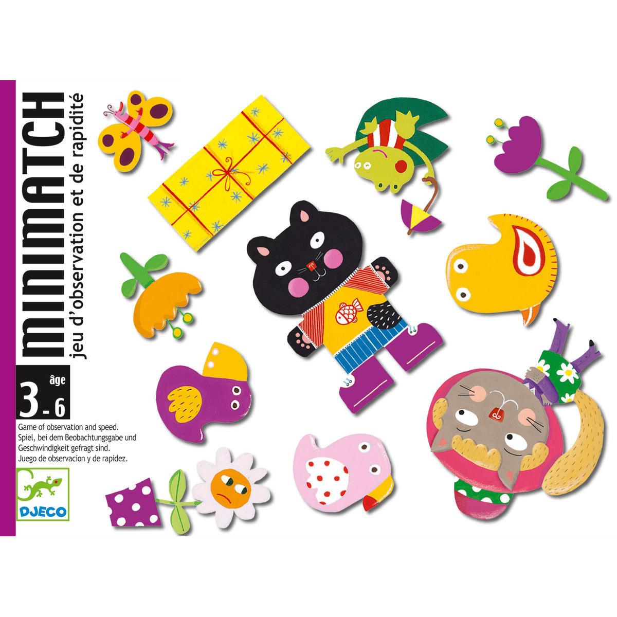 Mes premiers jouets Jeux de Cartes MiniMatch Jeux de Cartes MiniMatch