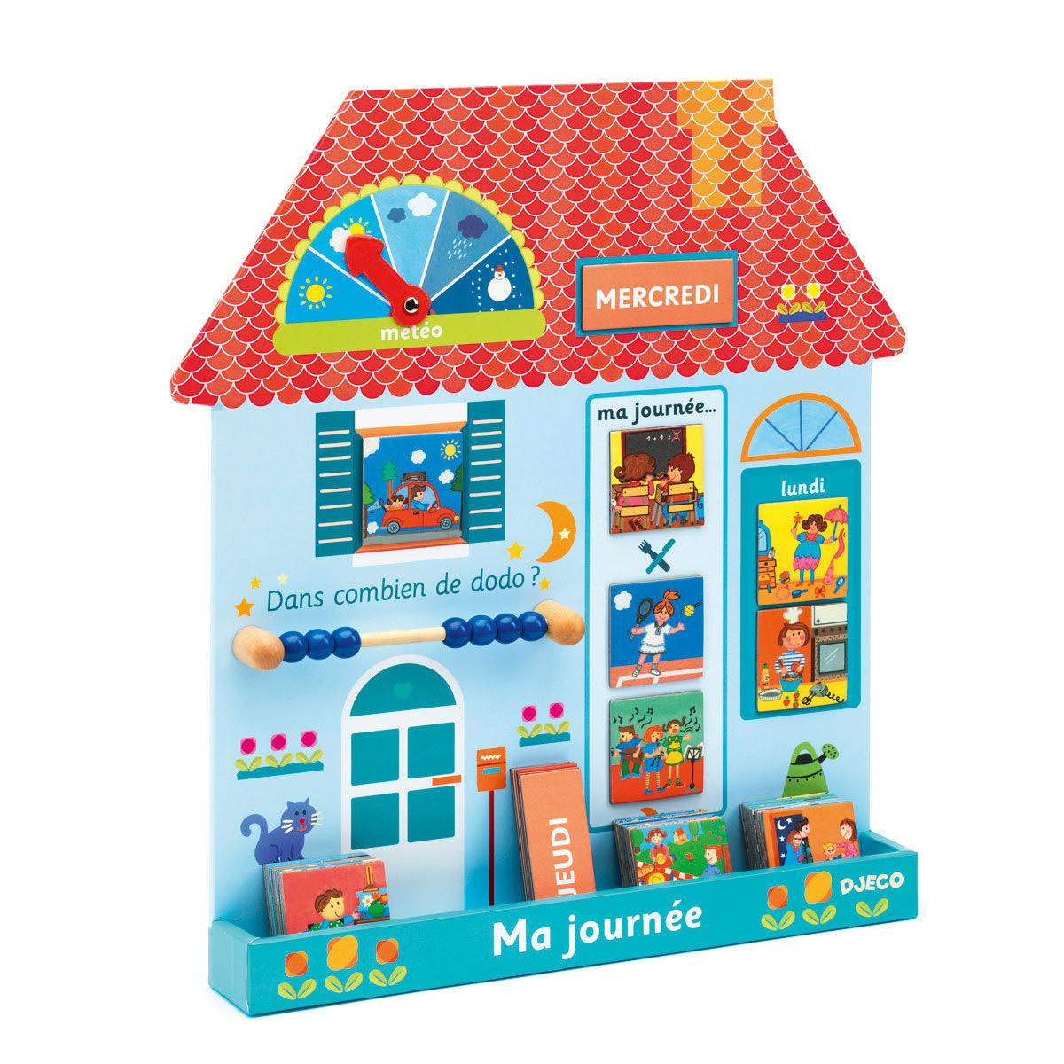 Mes premiers jouets Eduludo Ma Journée Maison Eduludo Ma Journée Maison