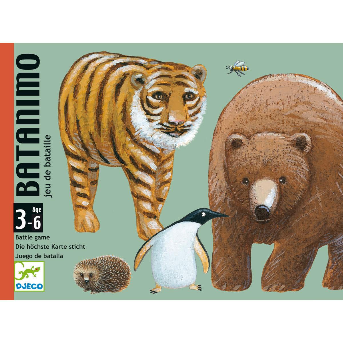 Mes premiers jouets Jeux de Cartes Batanimo