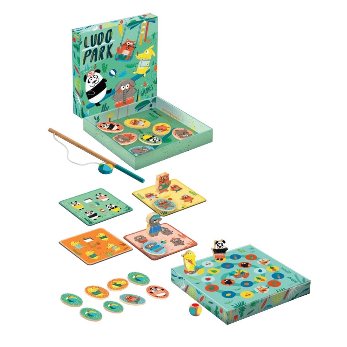 Mes premiers jouets LudoPark - 4 jeux LudoPark - 4 jeux
