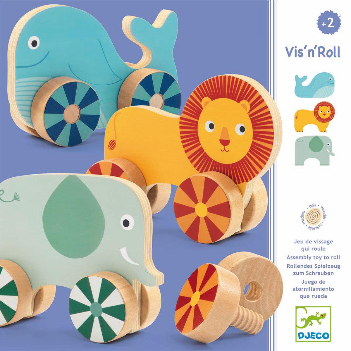 Mes premiers jouets Jouet d'Eveil - Vis'n'Roll Jouet d'Eveil - Vis'n'Roll