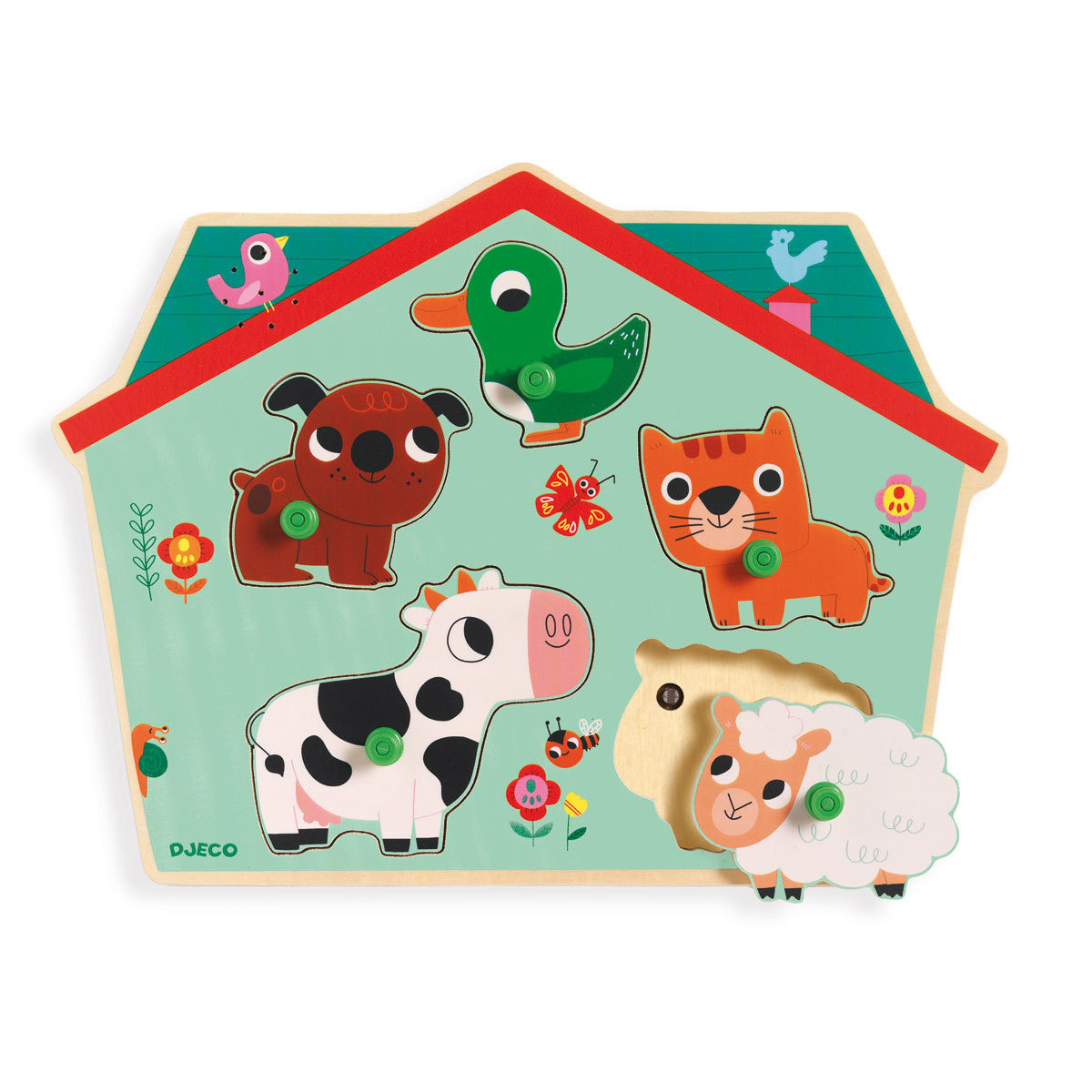 Mes premiers jouets Puzzle Sonore - Ouaf Woof Puzzle Sonore - Ouaf Woof