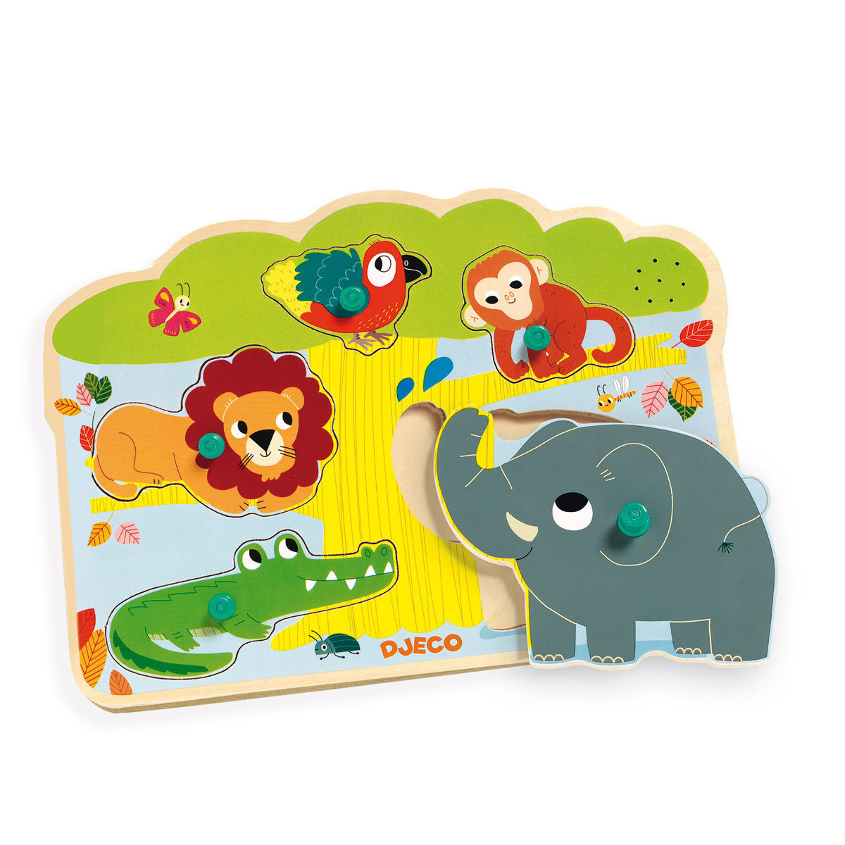 Mes premiers jouets Puzzle Sonore - Baobab Puzzle Sonore - Baobab