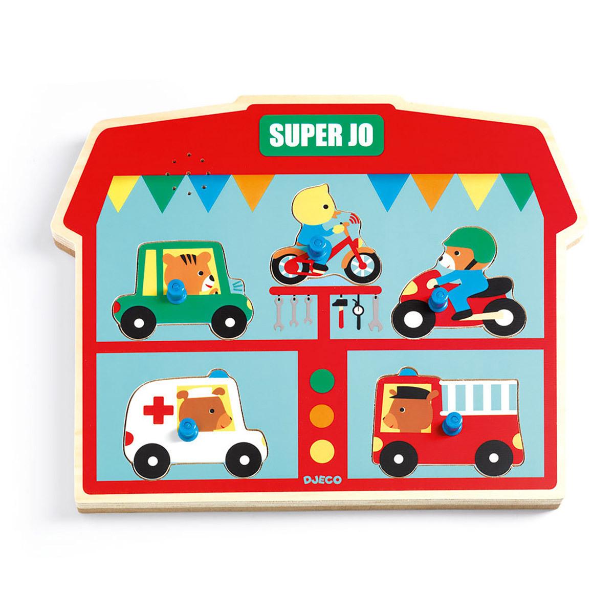 Mes premiers jouets Puzzle Sonore - Super Jo Puzzle Sonore - Super Jo