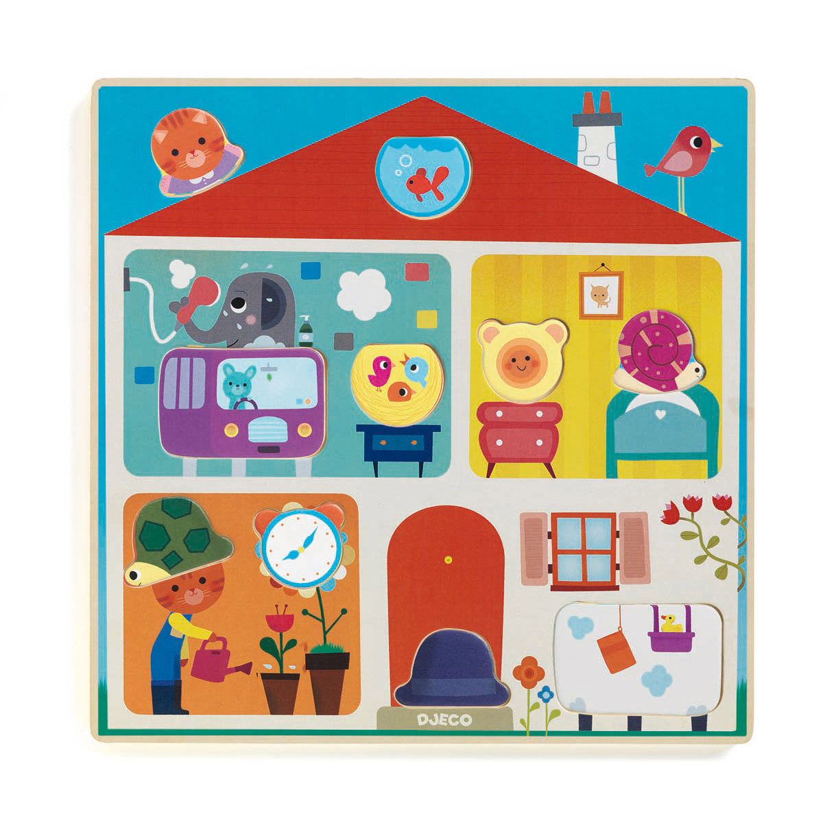 Mes premiers jouets Puzzle Éducatif - Swapy Puzzle Éducatif - Swapy