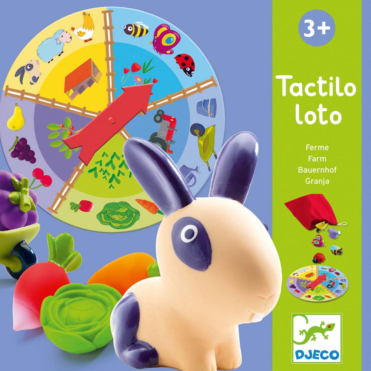 Mes premiers jouets Tactilo Loto Ferme Tactilo Loto Ferme
