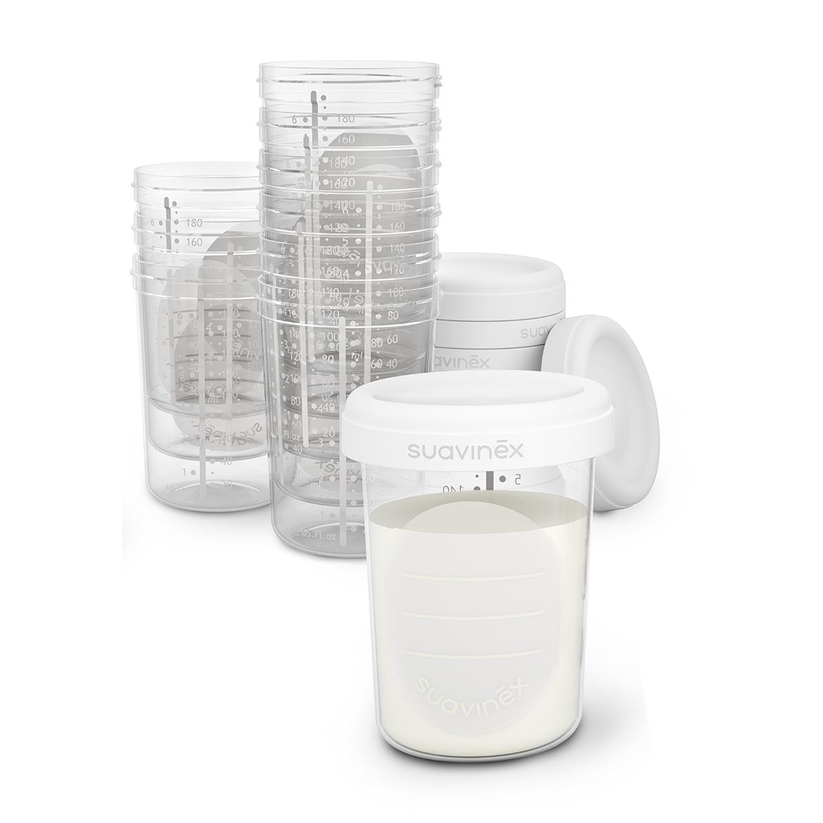 Tire-lait 10 Pots de Conservation 10 Pots de Conservation