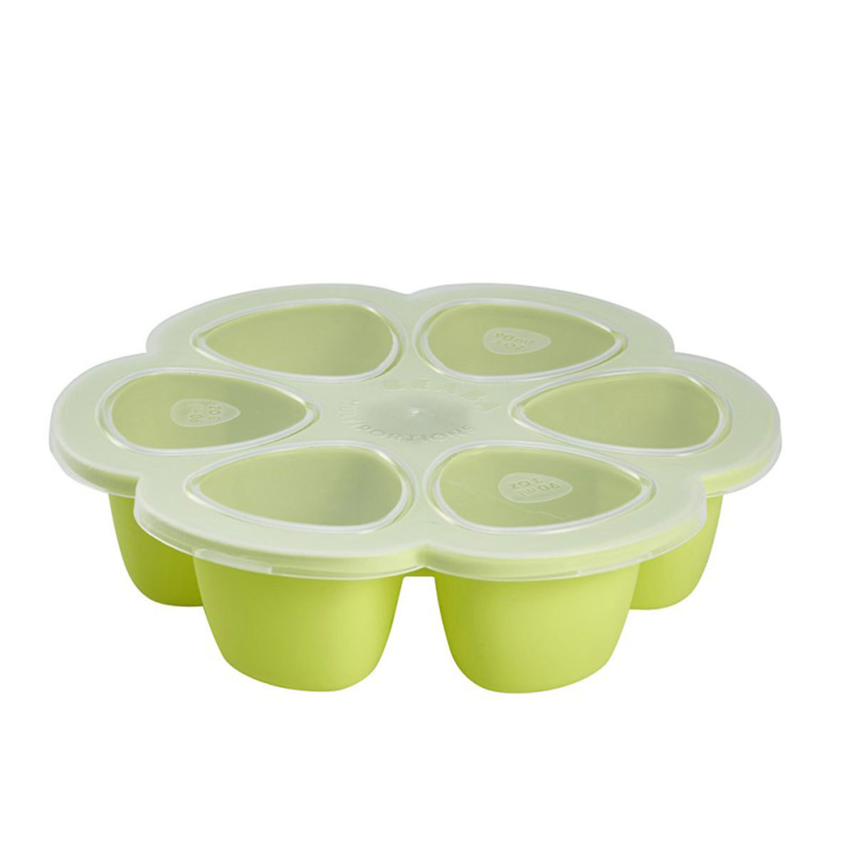 Vaisselle & Couvert Multi Portions Silicone 6 x 90 ml - Néon Multi Portions Silicone 6 x 90 ml - Néon