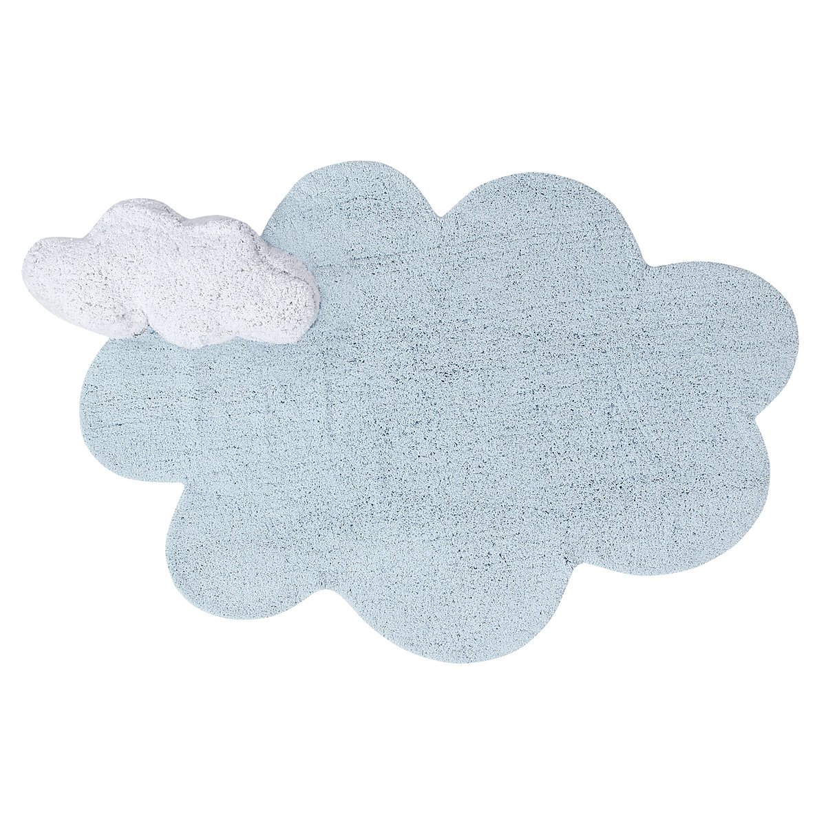Tapis Tapis Lavable Puffy Dream Bleu - 70 x 110 cm Tapis Lavable Puffy Dream Bleu - 70 x 110 cm